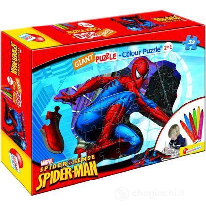 Puzzle Color Plus Gigante Sagoma Spider-Man (39869)