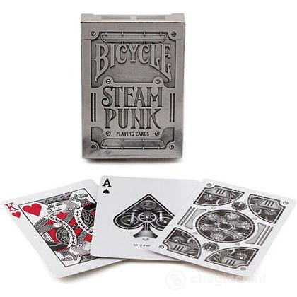 Carte Poker Bicycle Silver Steam Punk
