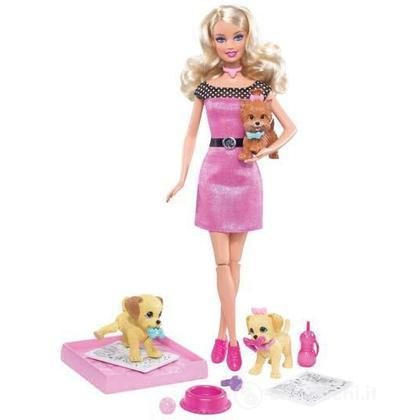 Barbie e i cuccioli Pipì-Popò (R9514)