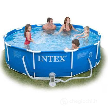 Piscina frame cm 305x76 56997 piscine intex for Piscina di barbie