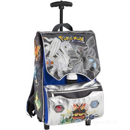 Zaino scuola con ruote estensibile Pokemon (85998)