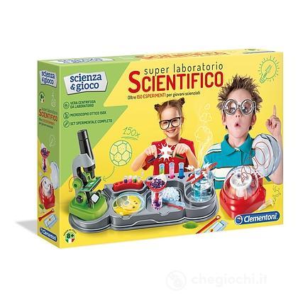 Scienze in laboratorio con microscopio. Super laboratorio scientifico (13998)