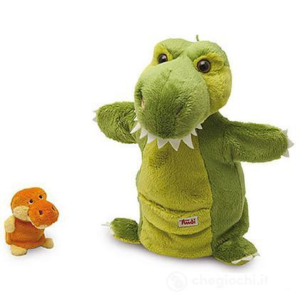 Marionetta Dinosauro con cucciolo 29999