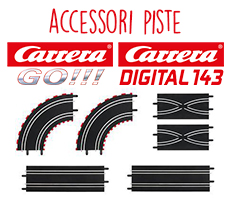 Carrera Accessori Piste GO Digital 143